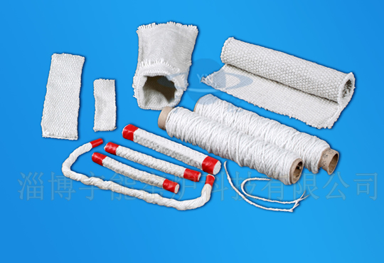 Aluminum silicate fiber rope